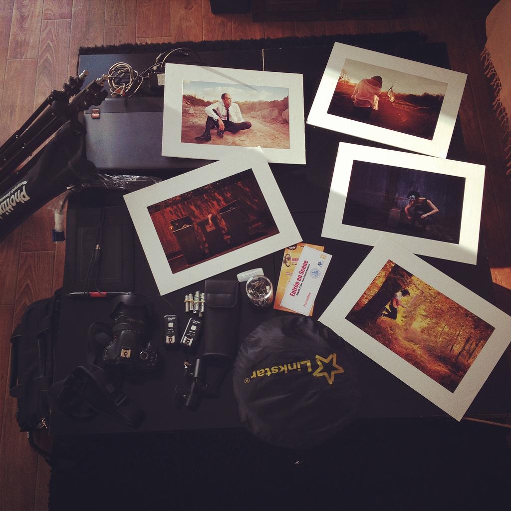 matériel photo pour festival
