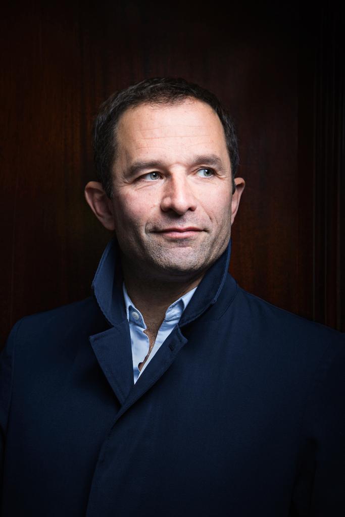Portrait de Benoit Hamon