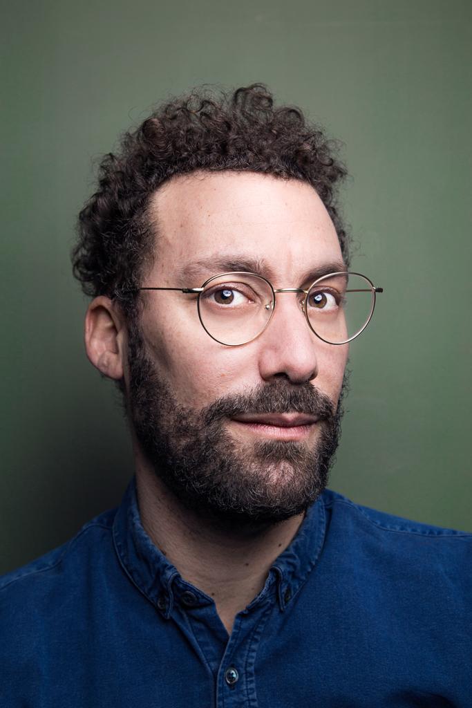 Portrait de l'écrivain David Whal