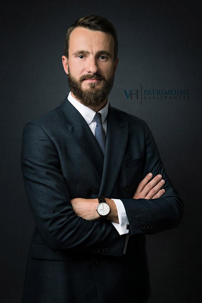 Portrait corporate de Victor Hennequin de VH Patrimoine