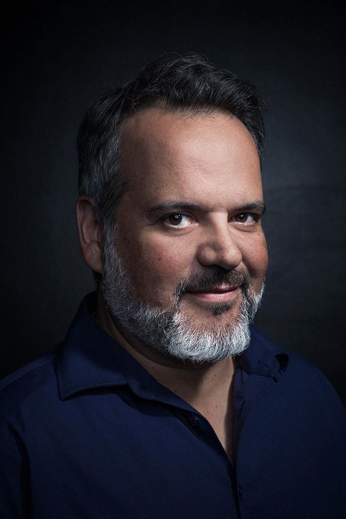 Portrait de Pascal Reverte directeur artistique de la Manekine