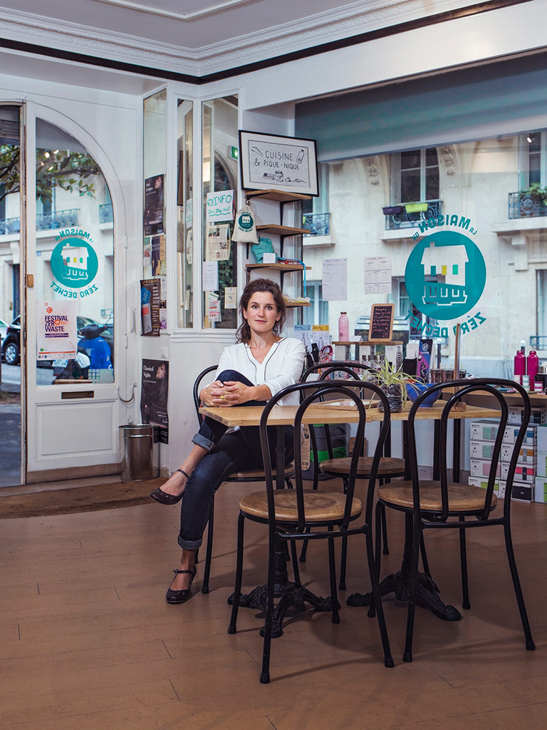 Photo de Flore Berlingen directrice de Zero Waste France