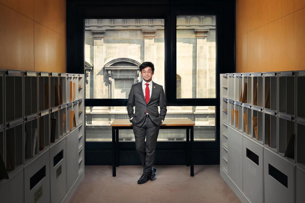Portrait de Joachim Son-Forget à l'Assemblée Nationale