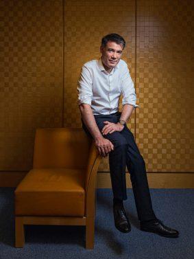 Portrait d'Olivier Faure à l'Assemblée Nationale