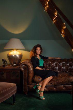 Portrait de Laure Bustin directrice de l'Agence de communication Grafiiti