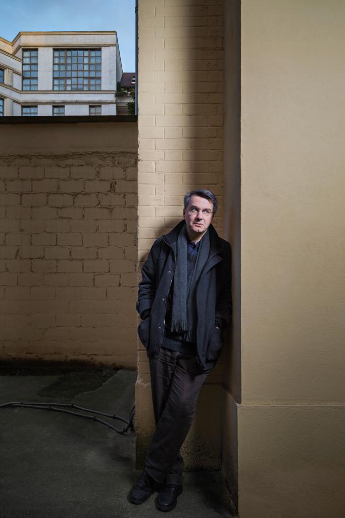 Portrait de Serge Audier maitre de conférence Université Paris IV
